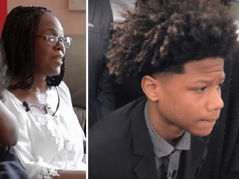 Mother meets boy who shot her son dead two days ago and forgives him
