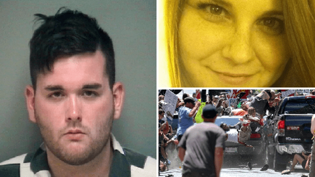 James Fields, His victim, Heather Heyer, and the crash that killed her