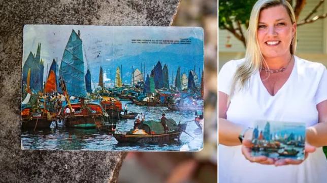 The Hong Kong post card and Kim Draper