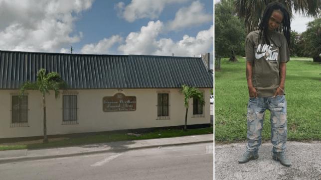 Steven Brothers funeral home and Jakiel Jones
