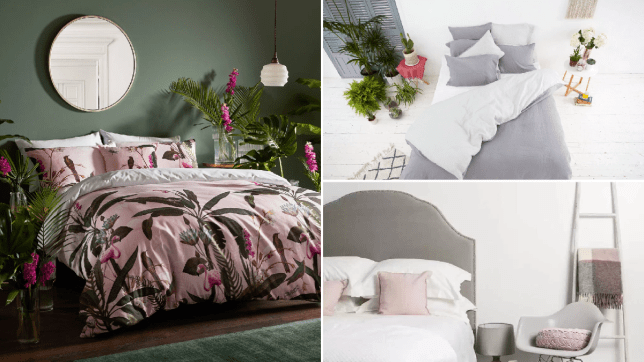 Compilation of three bedrooms