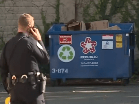 Newborn twin dies after mother gives birth behind dumpster then abandons babies