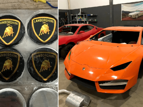 Factory churning out fake Ferraris and Lamborghinis discovered in Brazil