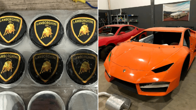 Factory Churning Out Fake Ferraris And Lamborghinis Found In