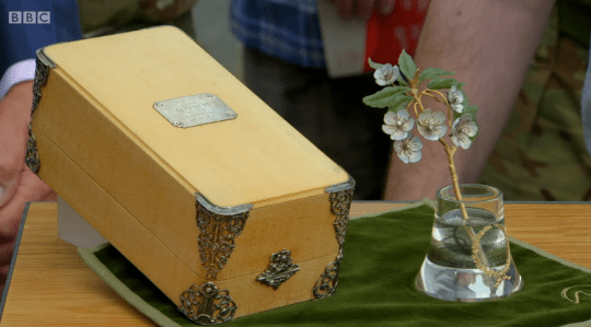 Antiques Roadshow Faberge glass valued at £1million by