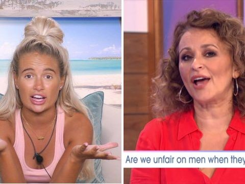 Nadia Sawalha insists Love Island's Molly-Mae Hague was way more of out line than Maura Higgins in Curtis Pritchard sex row