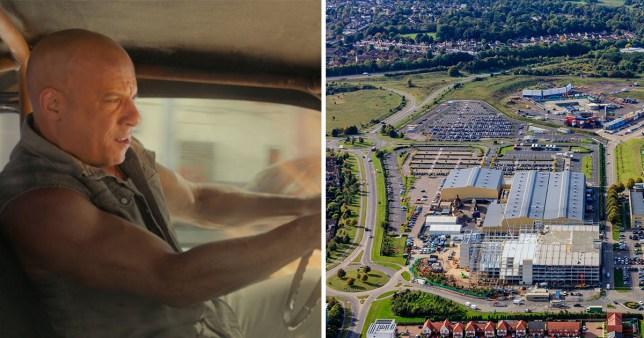 Fast and Furious stuntman seriously injured at Warner Bros studio