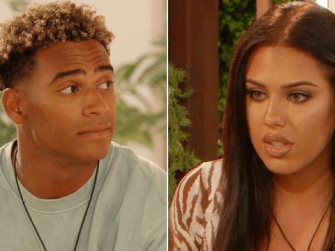 Love Island's Jordan Hames brands girlfriend Anna Vakili 'embarrassing' as he cracks on with India Reynolds in front of her