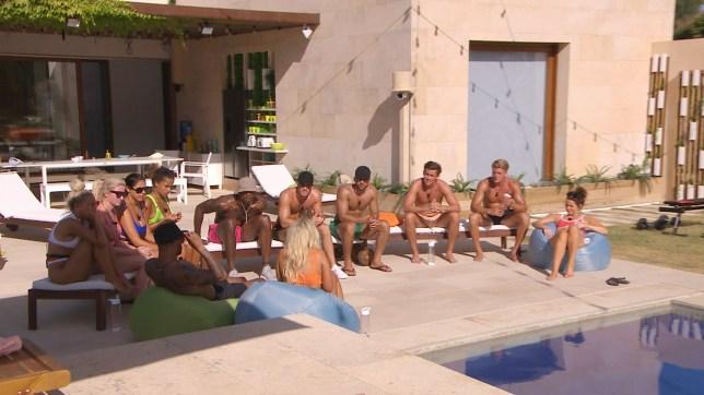 Love Island contestants at Casa Amor