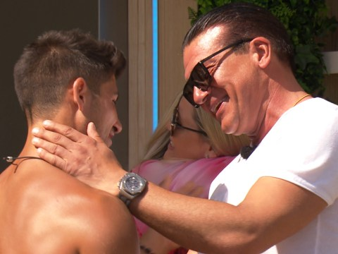 Love Island's Anton Danyluk comes face-to-face with Belle Hassan's dad for first time tonight