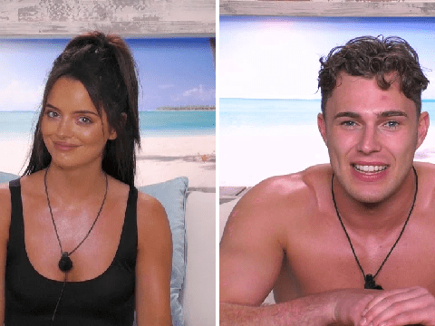 What's going on with Maura Higgins and Curtis Pritchard in Love Island?