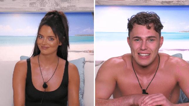 maura and curtis from love island