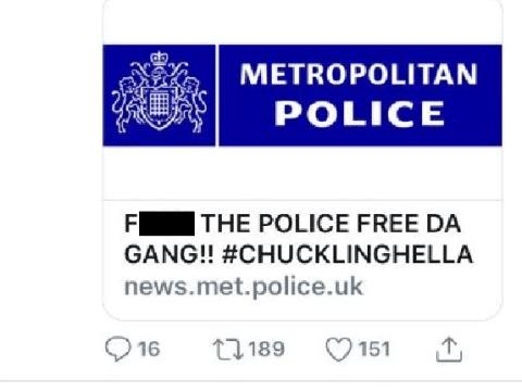 Metropolitan Police hack blamed on gang of teenage cyber-vandals