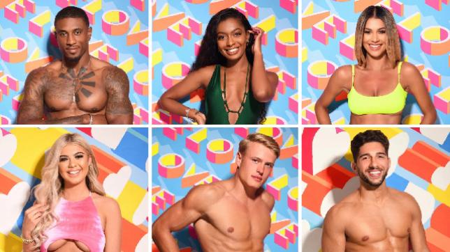 Who are the six new Love Island contestants in the main villa?