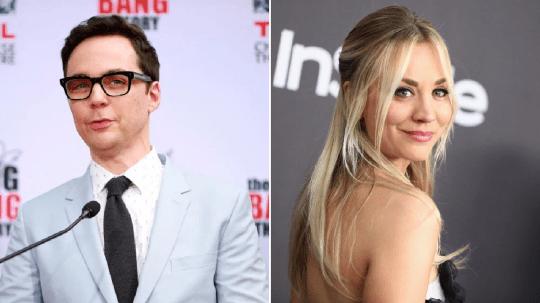 The Big Bang Theory's Jim Parsons and Kaley Cuoco