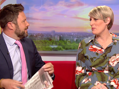 Steph McGovern battles through morning sickness as she opens up on 'rough start' to pregnancy on BBC Breakfast