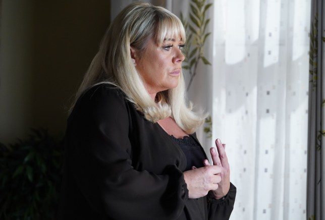 Sharon learns the father in EastEnders