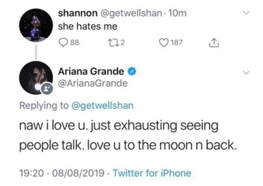 Ariana grande Is over Party