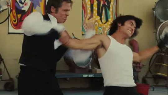 Cliff Dalton fighting Bruce Lee