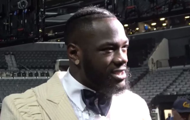Deontay Wilder has hit out at Tyson Fury for fighting Otto Wallin