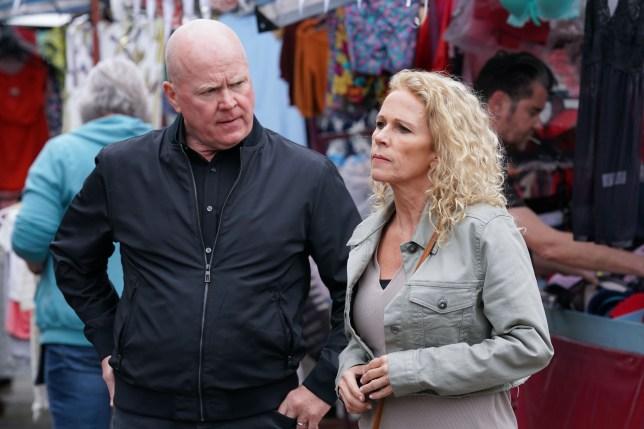 Lisa and Phil in EastEnders