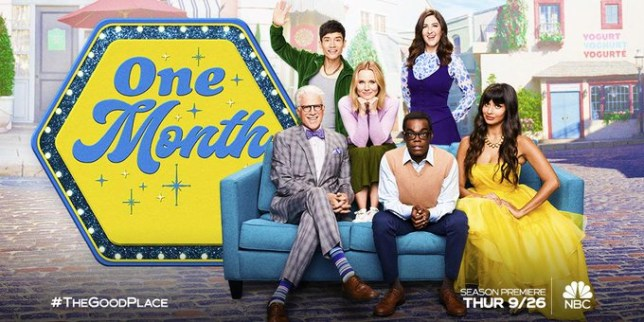 The Good Place cast prepare to say goodbye in new season 4