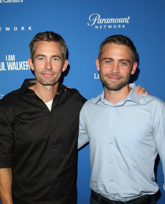 Paul Walker's brothers Caleb and Cody
