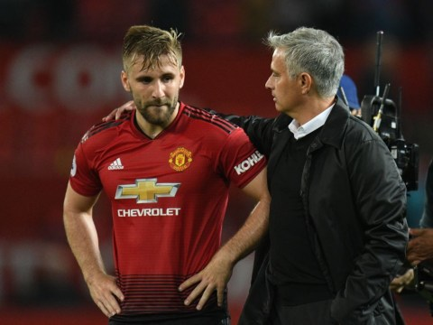 Manchester United star Luke Shaw takes dig at Jose Mourinho