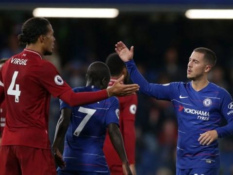 Liverpool star Virgil van Dijk backs Frank Lampard to cope without Eden Hazard at Chelsea