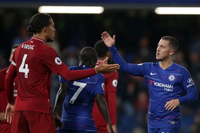 Liverpool star Virgil van Dijk says Chelsea can cope without Eden Hazard this season