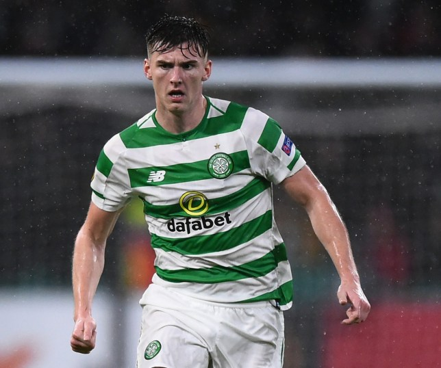 Kieran Tierney is 'coping well' with the Arsenal speculation, says Celtic team-mate James Forrest