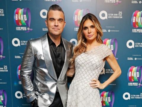 Ayda Field shares cute wedding throwback with husband Robbie Williams to mark ninth anniversary