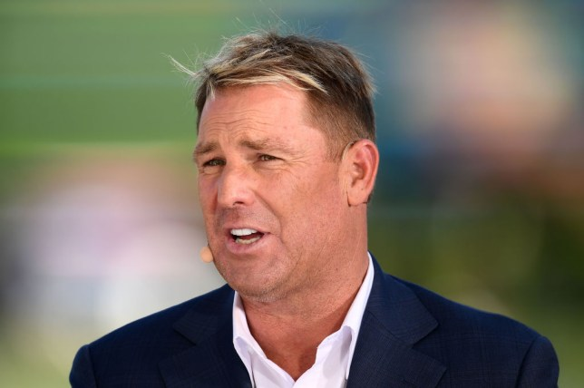 Shane Warne has hit out at England hero Matthew Prior after he mocked Australia spinner Nathan Lyon