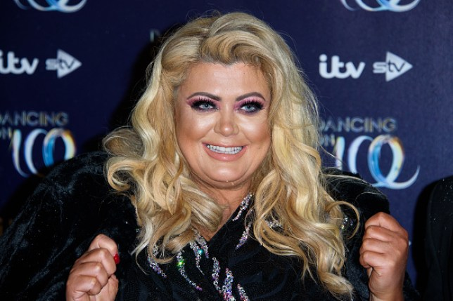 Gemma Collins before Dancing on Ice
