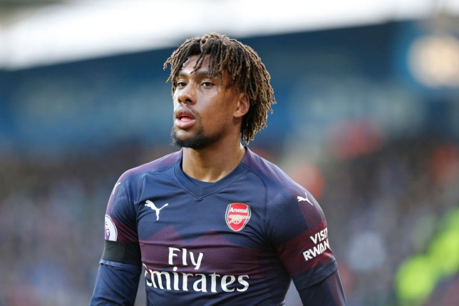 Arsenal winger Alex Iwobi is wanted by Everton