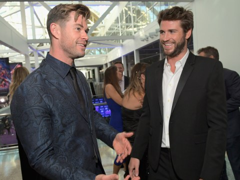 Chris Hemsworth is being a legend and 'lending shoulder to Liam' in wake of Miley Cyrus split