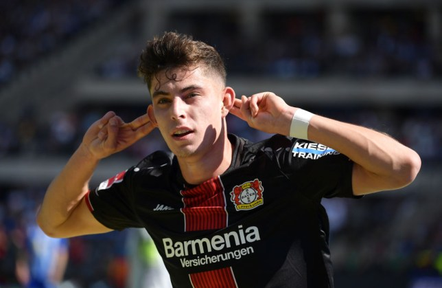 Kai Havertz is hot property among the biggest clubs