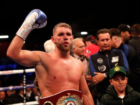 Billy Joe Saunders wants Gennady Golovkin or Canelo Alvarez but Eddie Hearn has other ideas