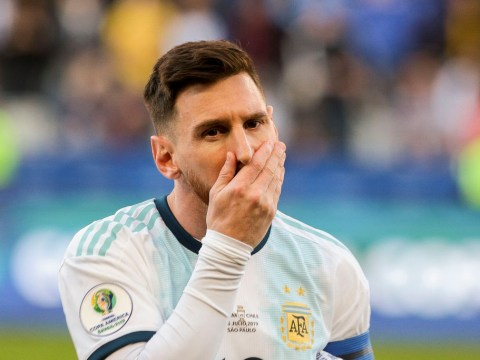 Lionel Messi banned from international football for three months after claiming Copa America was 'corrupt'