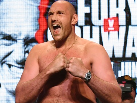Tyson Fury ridicules 'p****' Anthony Joshua after rival mocks Gypsy King for Otto Wallin fight