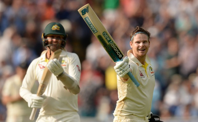 Steve Smith rescued Australia with a brilliant century against England