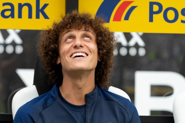 David Luiz is hopeful of completing a transfer deadline day move to Arsenal
