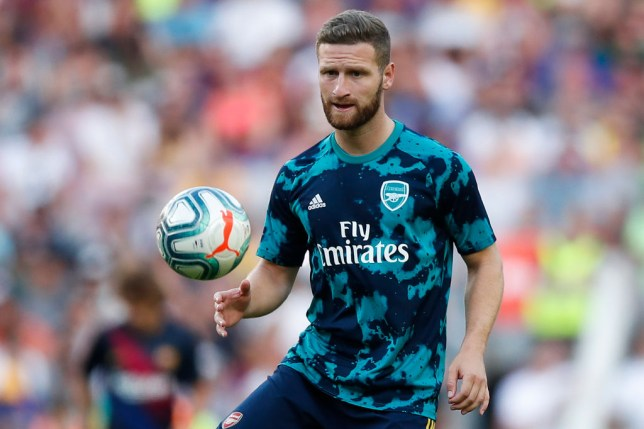 Shkodran Mustafi appears set for an exit from Arsenal