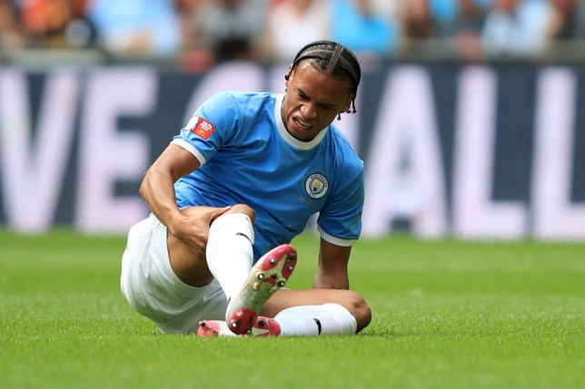 Leroy Sane is expected to miss up to nine months of the season (Picture: Getty)