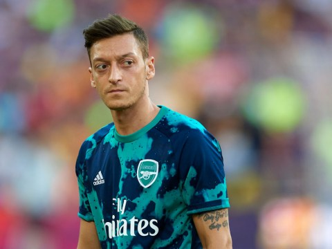 Mesut Ozil and Sead Kolasinac left out of Arsenal squad to face Newcastle United over security fears