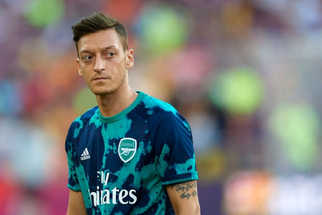 Mesut Ozil has been left out of Arsenal's squad to face Newcastle