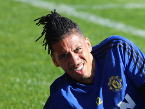 Manchester United reject offer from Everton to sign Chris Smalling on season-long loan deal
