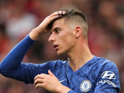Frank Lampard insists Mason Mount was picked on 'merit' for Chelsea against Manchester United