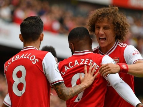 Unai Emery praises Dani Ceballos and David Luiz after making full debuts for Arsenal