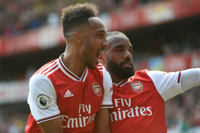 Pierre-Emerick Aubameyang and Alexandre Lacazette both scored in Arsenal's win over Burnley